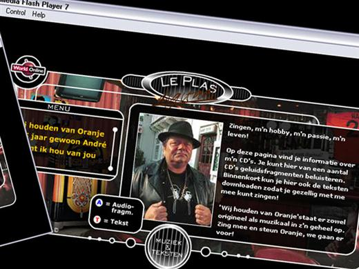 Hazes eerste website door Lupker Creative Services